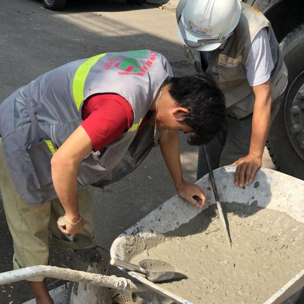 Cách kiểm tra độ sụt bê tông và tại sao phải kiểm tra độ sụt của bê tông
