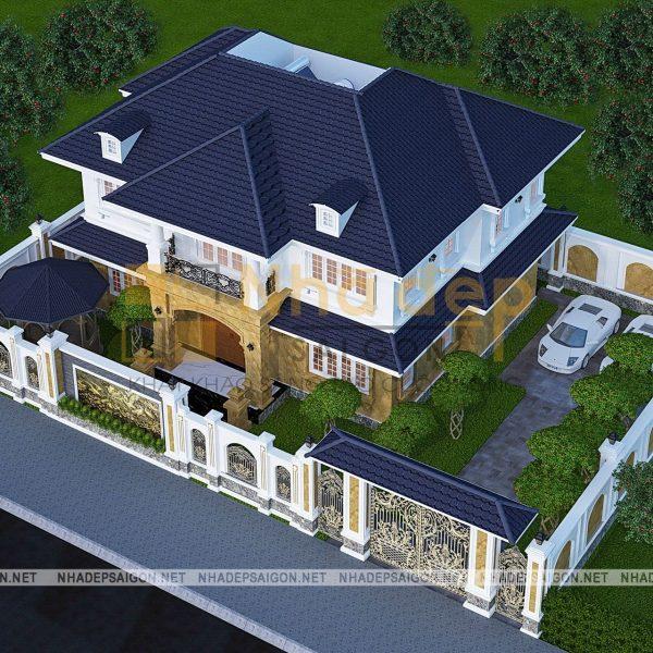 Thiết kế biệt thự Hóc Môn - Anh Tam