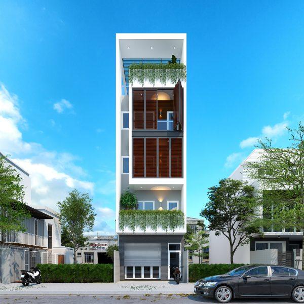 Phương án tư vấn thiết kế nhà cho thuê Quân 09
