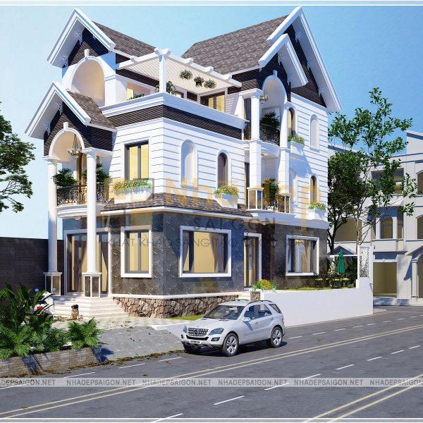 Thiết kế nhà phố Quận Thủ Đức - Chú Vân