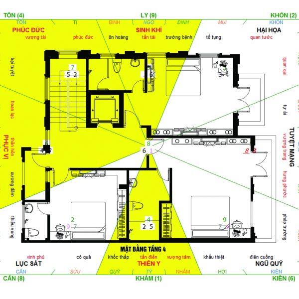 Tư vấn thiết kế biệt thự tân cổ điển trên đất 12x17m