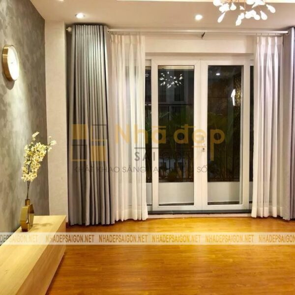 Mỗi căn phòng đều được thiết kế sao cho lấy được nhiều ánh sáng tự nhiên nhất, mang lại sự thoải mái cho ngôi nhà