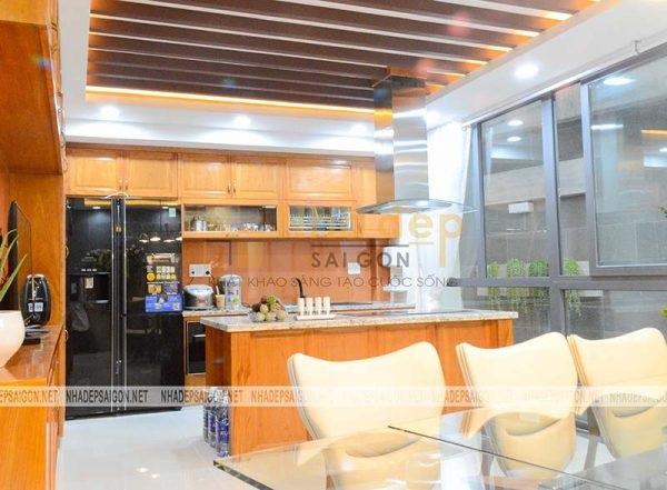 Khu vực không gian bếp
