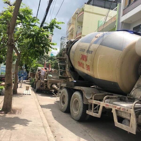Nhà Đẹp Sài Gòn sử dụng nhiều máy móc hiện đại để giúp cho quá trình thi công được thuận lợi hơn