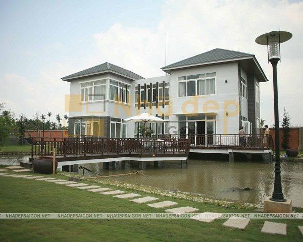 Mẫu biệt thự của chú Ngân – Bình Chánh fo Nhà Đẹp Sài Gòn thi công