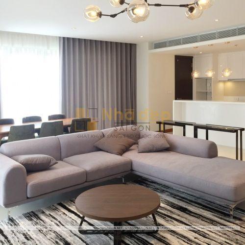Việc thi công hoàn thiện nội thất căn hộ trải qua nhiều công đoạn khác nhau