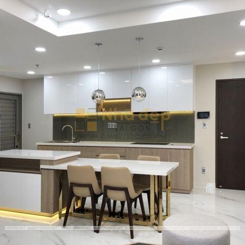 Hoàn thiện căn hộ D8-04 Hưng Phúc do Nhà Đẹp Sài Gòn thi công