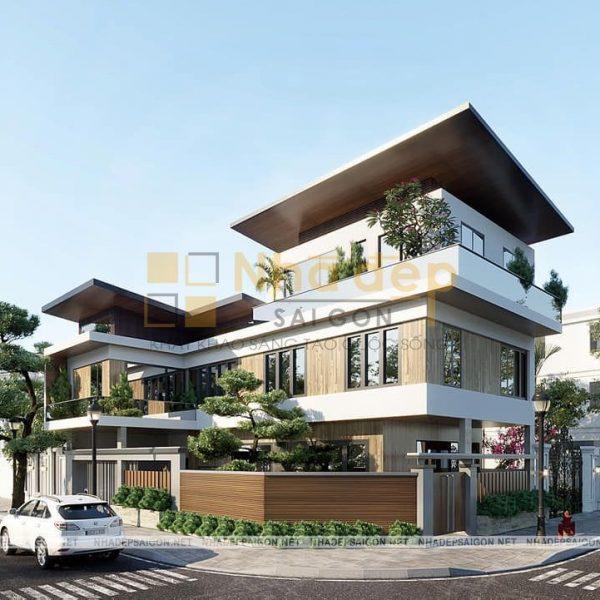 xây nhà chìa khóa trao tay - Thiết kế biệt thự quận 08-TP HCM- Anh Chinh