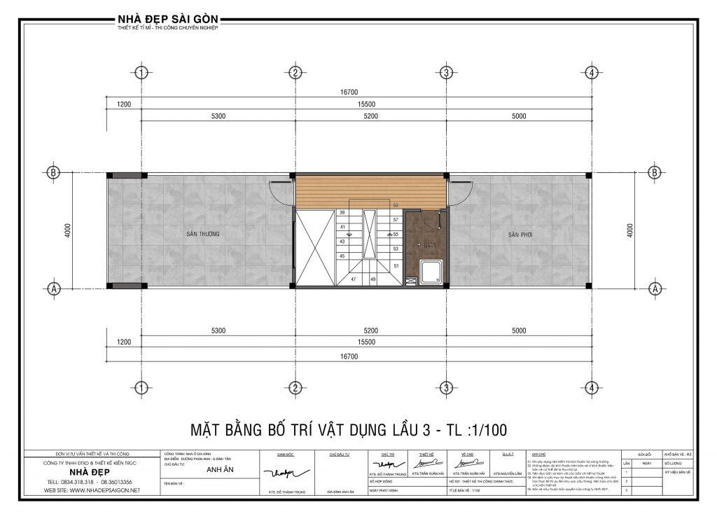 Thiết kế nhà 4x18