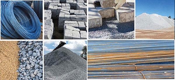 Nguyên vật liệu xây nhà quận Tân Phú