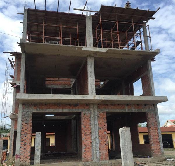 xây nhà thô