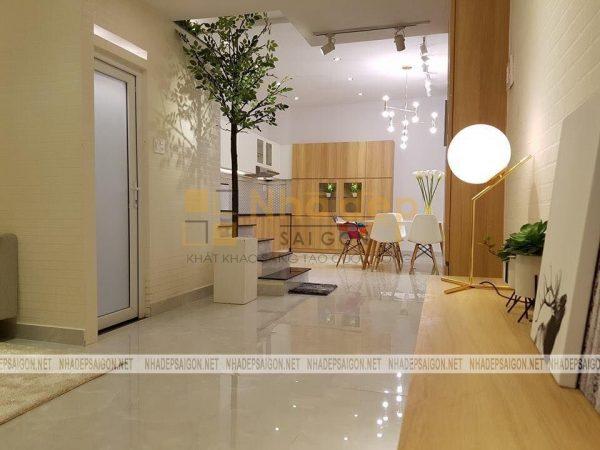 Thi công nhà phố quận Tân Bình – thi công phần hoàn thiện
