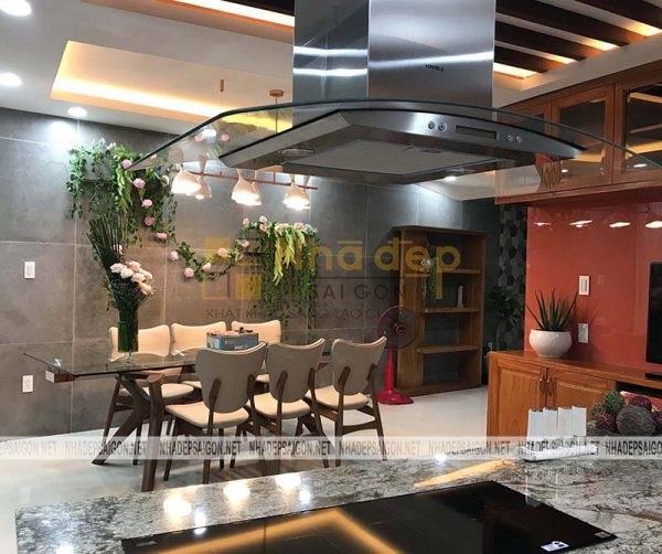 Không gian bếp tối ưu kiến trúc