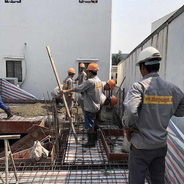 Nhà Đẹp Sài Gòn - đảm bảo về tiến độ thi công