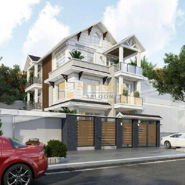 Một công trình xây nhà trọn gói đã được thực hiện bởi Nhà Đẹp Sài Gòn