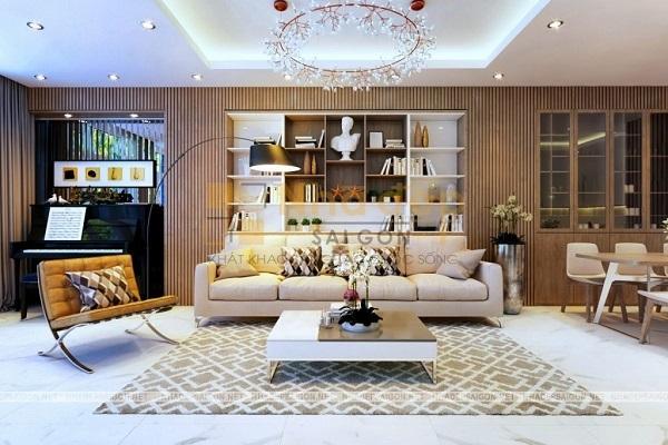 Nhà Đẹp Sài Gòn – thiết kế nhà phố chú Hải