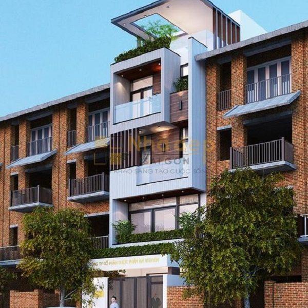 Thầu xây dựng quận Thủ Đức – thiết kế nhà phố chú Hải