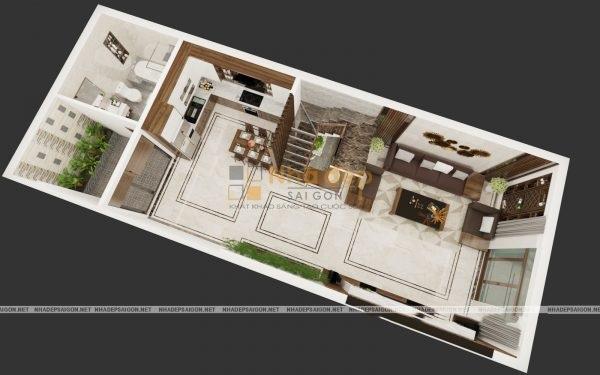Mẫu nhà 4x16 – diện tích ảnh hưởng đến chi phí xây dựng