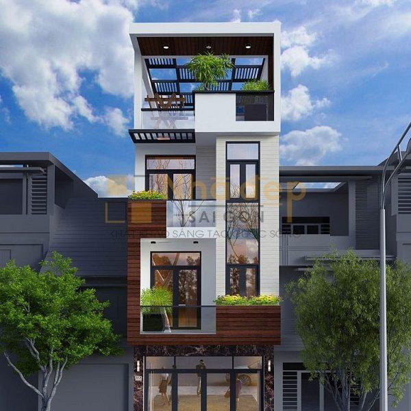 Nhà Đẹp sài Gòn thiết kế và hoàn thiện