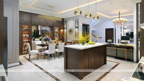 Bản vẽ thiết kế mẫu nhà 4x20 kết hợp nhà ở với kinh doanh