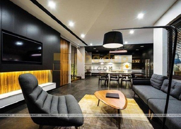 Mẫu nhà 6x12 – Thiết kế đương đại luôn tạo khoảng trống để ngôi nhà trông rộng rãi và thoải mãi