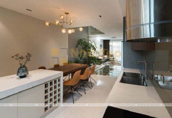 Phòng bếp được tối ưu nội thất