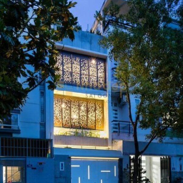 Mẫu nhà 6x15 – gia đình anh Đằng Quận Bình Tân, đẹp lung linh khi lên đèn