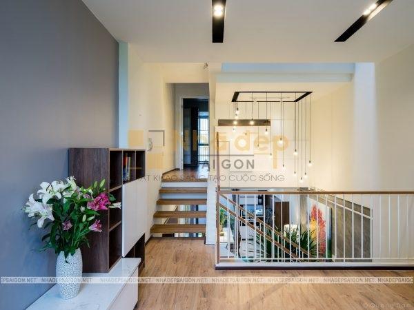 Mẫu nhà 6x15 – phần nội thất được thiết kế đơn giản