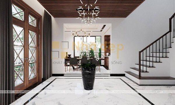 Nội thất trong thiết kế đương đại chú trọng vào không gian sử dụng