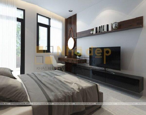 Mẫu 11: phòng ngủ phong cách hiện đại