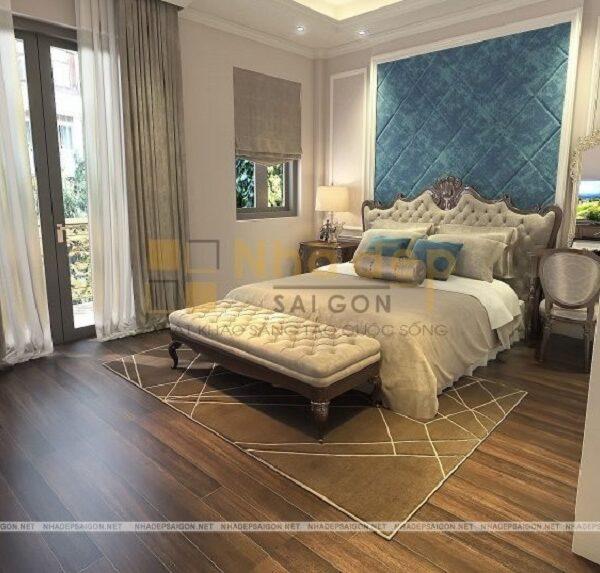 Mẫu 17: phòng ngủ thiết kế sang trọng