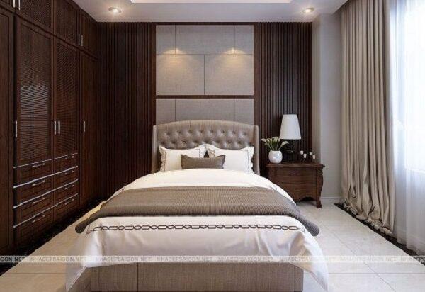 Mẫu 18: phòng ngủ thiết kế sang trọng