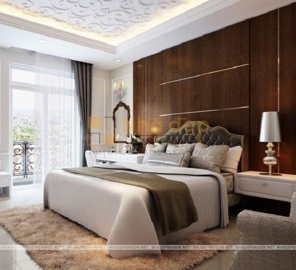 Mẫu 19: phòng ngủ thiết kế sang trọng
