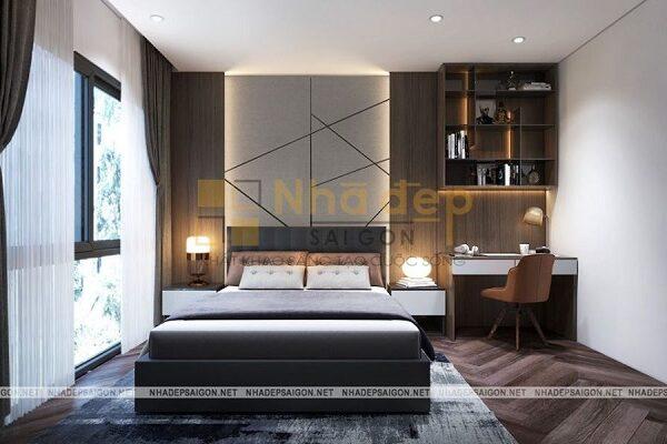 Mẫu 2: phòng ngủ phong cách hiện đại đẹp
