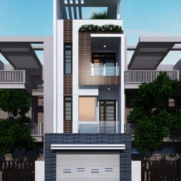 Mẫu nhà 6x18 - Nhà mặt phố kết hợp kinh doanh và ở