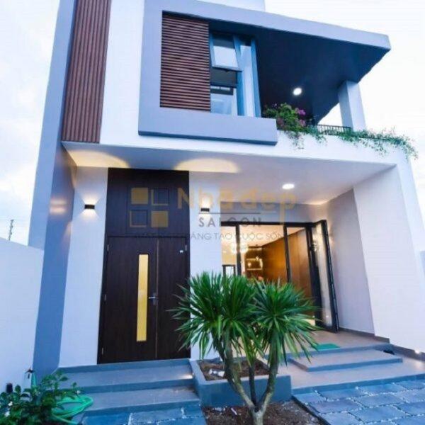 Mẫu nhà 6x18 – 2 tầng với kiến trúc đơn giản
