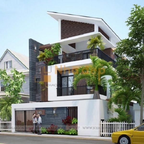Kiến trúc đơn giản, không quá cầu kỳ, mang lại không gian sống đẹp, phù hợp với nhiều gia đình hiện nay