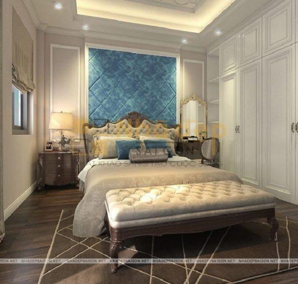 Mẫu nhà 6x9 – phòng ngủ của bố mẹ