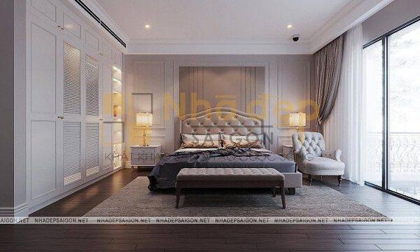 Không gian phòng ngủ sang trọng
