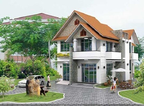 Tại sao nên chọn thiết kế biệt thự sân vườn cho mẫu nhà 7x13