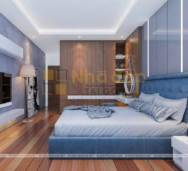 Mẫu nhà 8x10 - Phòng ngủ thứ 3