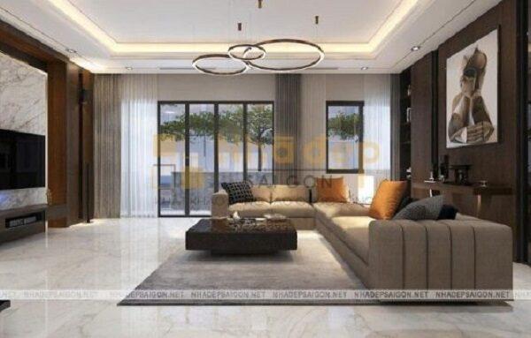 Phòng khách tận dụng được ánh sáng tự nhiên