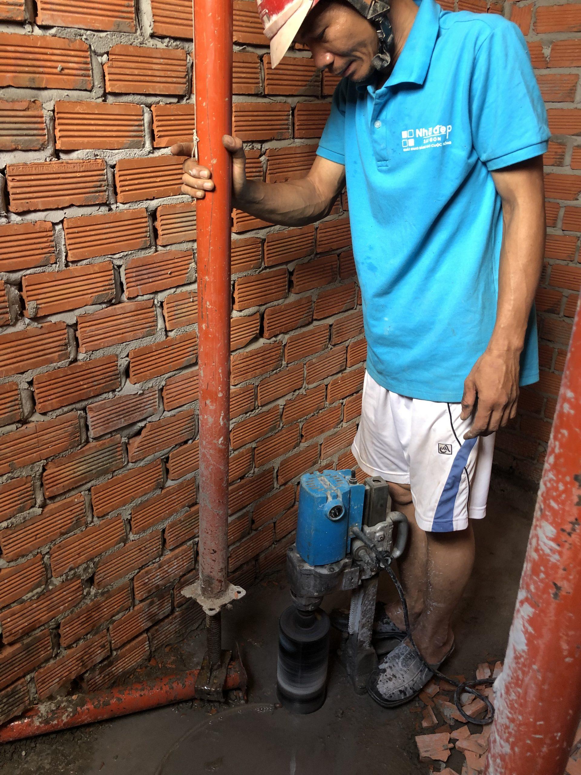 Thi công xây dựng phần điện nước