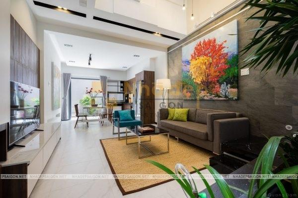 Thiết kế nội thất tối ưu không gian sống