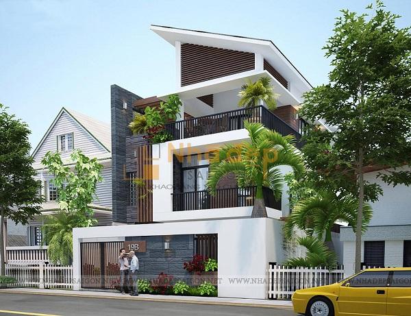 Thi công nhà phố quận Bình Thạnh - Gia đình anh Phong
