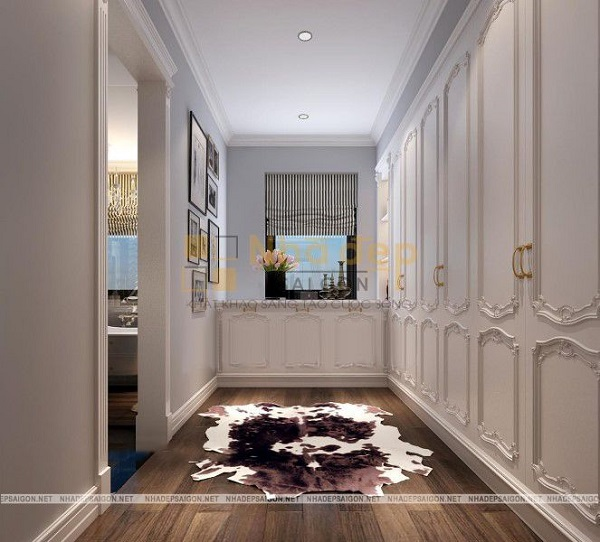 Màu trắng là tông màu chủ đạo của ngôi nhà