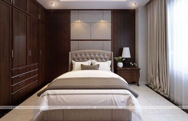 Phòng ngủ đơn giản – ít đồ nội thất