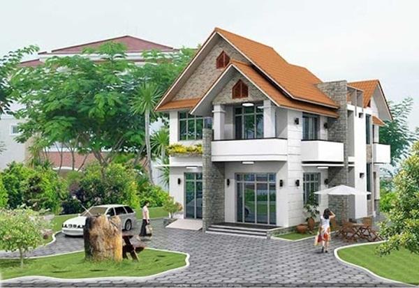 Thi công nhà phố huyện Củ Chi - Thiết kế đơn giản và pha chút cổ điển