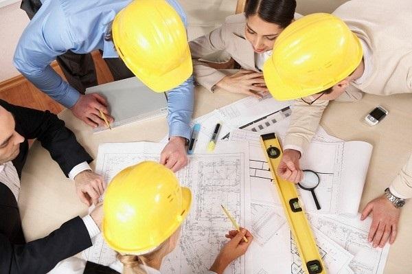 Xác định diện tích đất cần thi công nhà phố huyện Nhà Bè