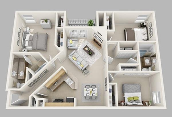 Thi công nhà phố Quận 1 – lựa chọn phong cách thiết kế